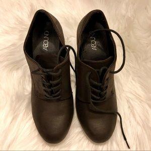 Abound dark brown booties